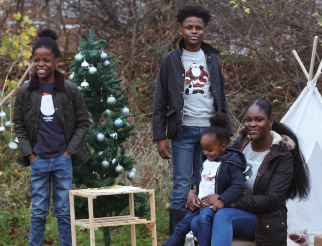 Creating a Christmas garden adventure with Waïki Harnais