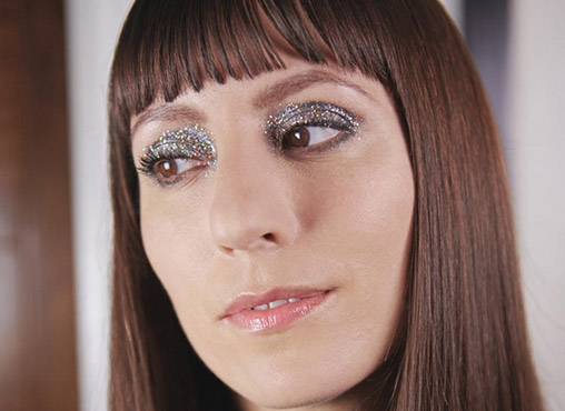 How to wear grown-up glitter