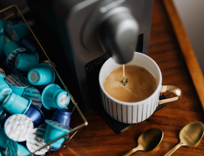 Creating the perfect at-home coffee station