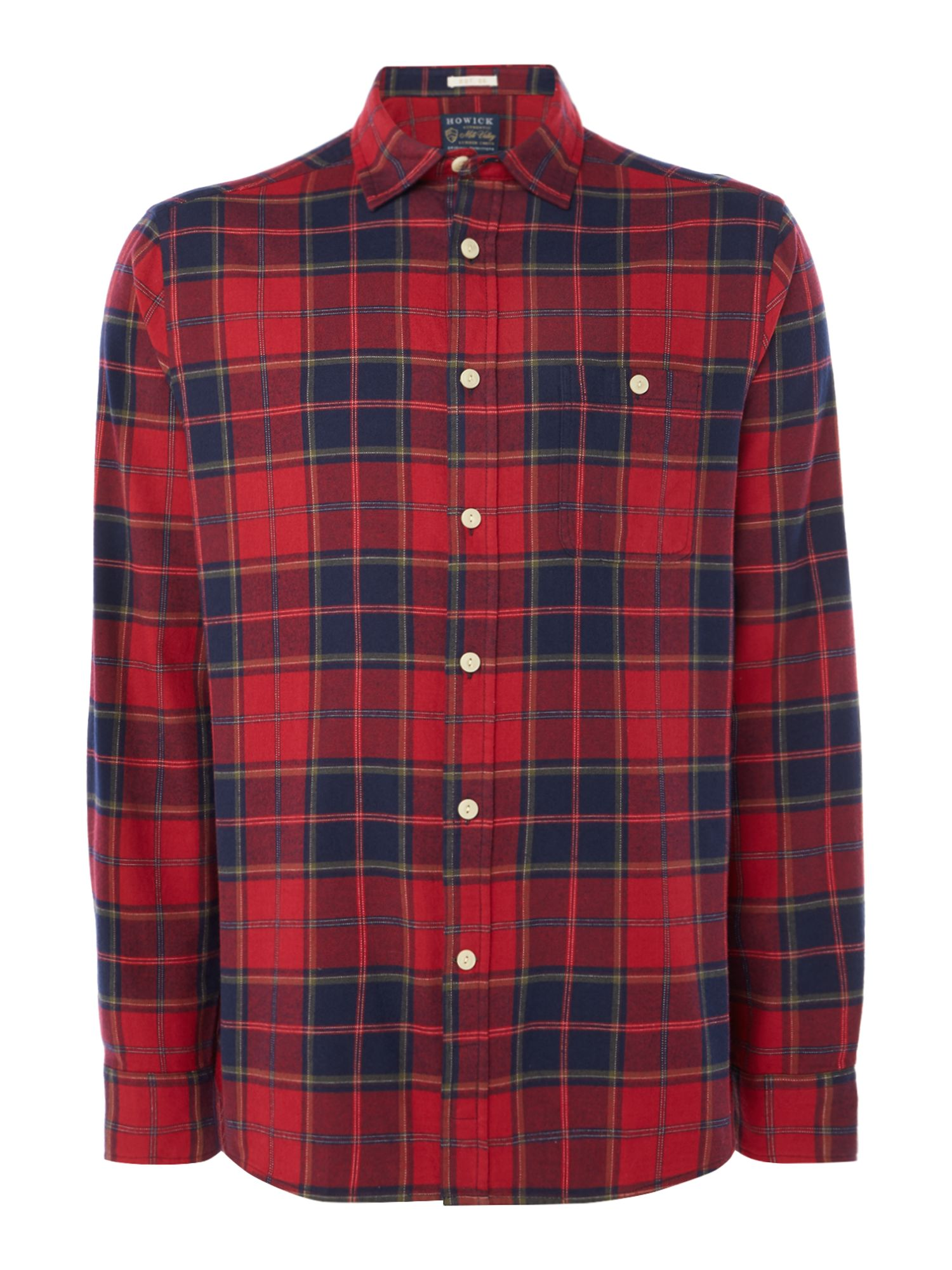 Howick Texhoma Check Long Sleeve Shirt