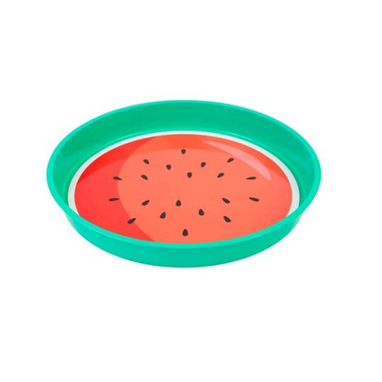 Sunnylife Watermelon Round Drinks Tray