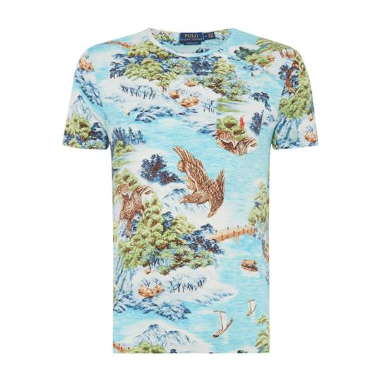 Polo Ralph Lauren Hawaiin Printed T-shirt