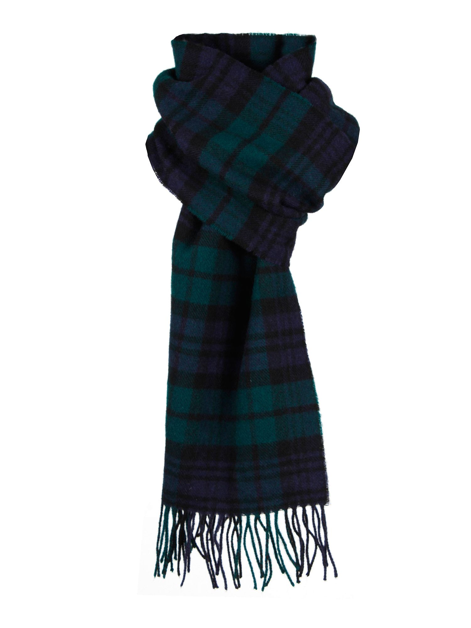 Dents Men's Lambswool Scarf In Gift Box