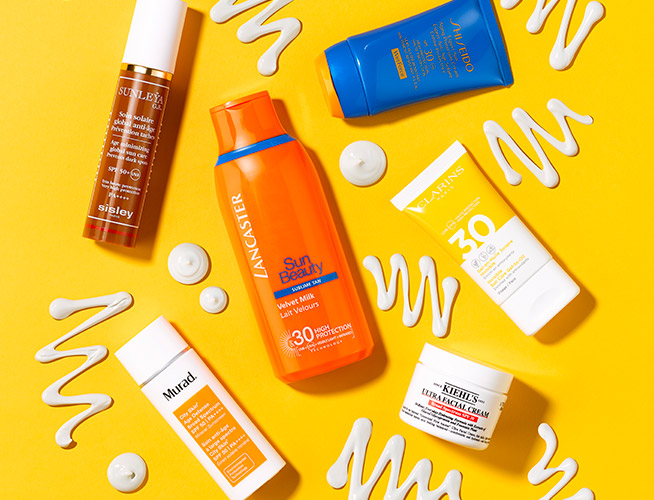 6 of the best face sun creams