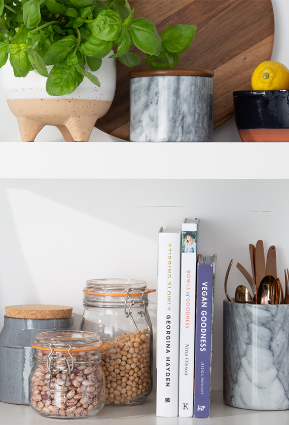 Stylish Kitchen Storage Ideas - The Shelfie