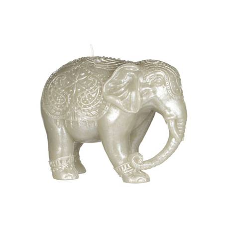 Junipa Large Elephant Unscented Candle
