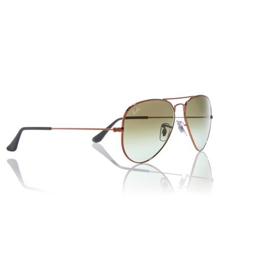 Ray-Ban Bronze RB3026 Aviator pilot sunglasses