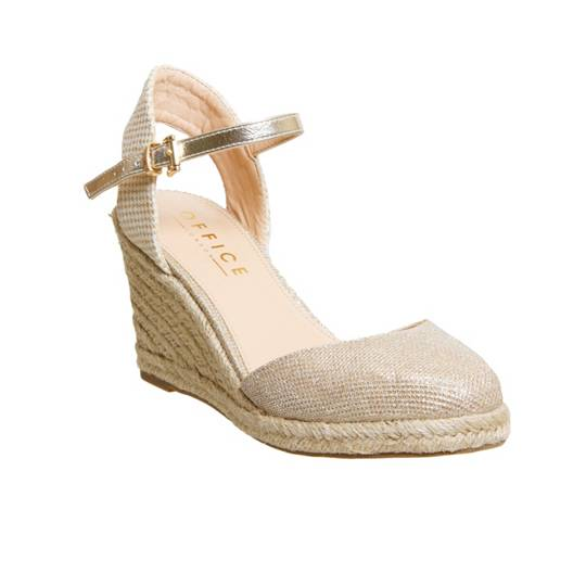Office Mamacita closed toe espadrilles