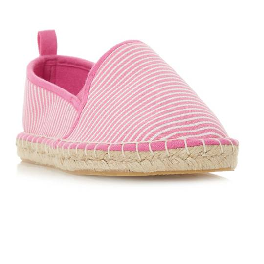 Head Over Heels, Galinda Striped Espadrille Shoes,