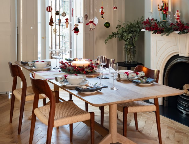 Christmas table styling ideas